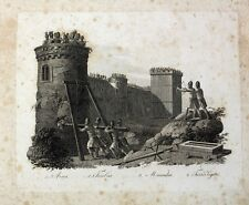 Rom Antike Legion Rammbock Belagerungsturm Balliste Festung Widder Bogenschütze