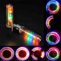 2x 5LED Flash Light Bicycle Motorcycle Car Bike Tyre Tire Wheel Valve Lamp New