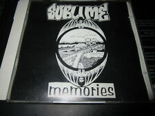 Sublime Live At Tressel Tavern - Memories - super rare live 2 CD set # 575 /1000