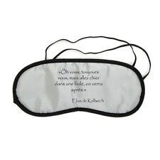 Masque de nuit repos voyage Elias Chier dans une fiole citation Kaamelott