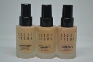 Bobbi Brown Long Wear Even Finish Foundation SPF 15 BNIB 1oz./30ml~choose shade~