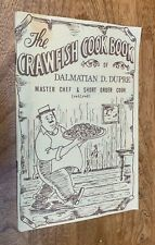 Cookbook, Crawfish, Dalmatian D. Dupree, South Louisiana Cajun Cooking