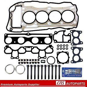 Fits 03-06 Nissan Sentra 1.8L QG18DE MLS Head Gasket Set w/ Head Bolts + Sealant