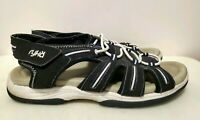 Ryka Active Wear Navy Blue Walking Hiking Sandals for Women, Size 7.5
