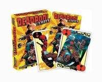 Marvel Comics 'DEADPOOL' FAMILY Playing Cards Licensed Product Brand New 'MERC'