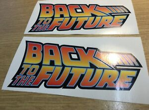 X2 Back To The Future vinyl sticker  for Bumper Laptop wall