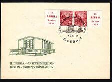 Gebiet DDR Briefmarken aus Deutschland (ab 1945) mit Ersttagsbrief für Bauwerke