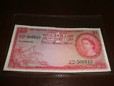 More details for british caribbean territories one dollar banknote 1953