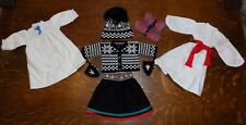 Tagged American Girl Kirsten Winter Lot Clothing Bundle Sweater St. Lucia MORE