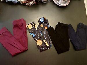 Splendid Girls Leggings Pants Lot of 5 pairs All Size 5/6 Joggers Solar System
