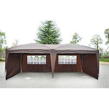 Outsunny 10' X 20' Patio Gazebo POP UP Party Tent Wedding Canopy W/ Carry Case