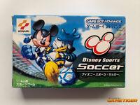 DISNEY SPORTS SOCCER GBA Nintendo Game Boy Advance JAPAN