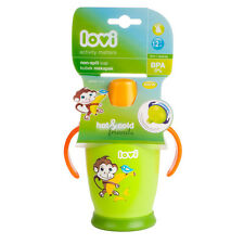 NEW Non-spill Lovi cup 250 ml Baby Infant toddler SIPPY CUP NON SPILL green