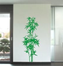 Wandtattoo Bambus Asiatisch 100x35cm B4 Baum Busch