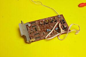 Sansui Compu Equalizer SE-9 SE9 - Parts Repair PCB Board 3505 F F3505 Display