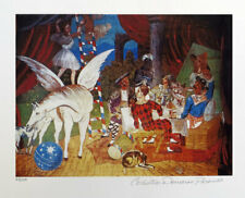 Pablo PICASSO Theatre Parade Signed Domaine Giclee 13 x 20