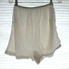 Vtg Nos Kayser Roth Sheer Panties Silky Dbl Gusset Acetate Flare Leg 8 50s Usa