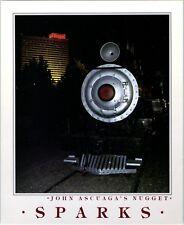1990 er Nugget Sparks Hotel Casino Reno Area Nevada Postcard Vtg John Ascuaga's