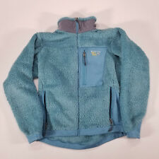 MOUNTAIN HARD WEAR Women's Medium/Large Aqua Teal Plush High Pile Fleece Jacket