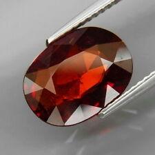 4.69 CTS EXCELENTE GRANATE ESPESARITA. Natural Red Spessartite Garnet Africa