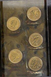 2000 p d 2000d uncirculated mint cello state quarter set 10 coins