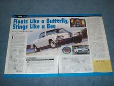 "1966 Yenko Stinger Sports Car YSC-20 Corvair Info Article ""Floats Like A...."""