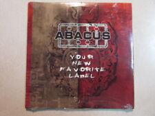 ABACUS YOUR NEW FAVORITE LABEL 18 TRK PROMO CD CARDBOARD SLEEVE SEALED GRINDCORE