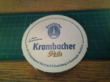 sottobicchiere beer mats birra bierdeckel krombacher pils
