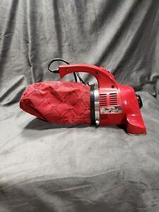 Royal Dirt Devil Plus Hand Vac Vacuum Model 08130 Red Very Clean Unit
