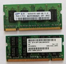 Samsung Genuine 4GB Laptop DDR2 RAM 2x2GB PC2-6400S-666-12-A3 SO-DIMM Modules