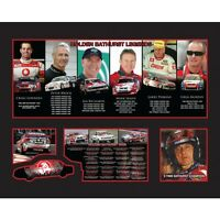 New Holden Bathurst Legends Limited Edition Memorabilia Framed