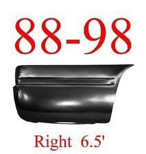 88 98 RIGHT 6.5FT Lower Rear Bed Patch, Rust Reapir, Chevy GMC Truck 1.2MM Thick