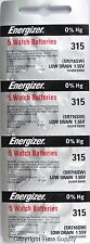 20 pcs 315 Energizer Watch Batteries SR716SW SR716 0% HG