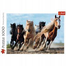 Trefl, Puzzle, Galoppierende Pferde, 1000 Teile