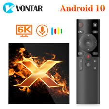 2020 VONTAR X1 TV Box Android 10 TVBOX support  6K 2.4G&5G wifi AC Google Voice