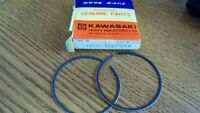 NOS OEM Kawasaki Piston Ring Set STD  KX125-B1 1982 MotorCross 13008-5045
