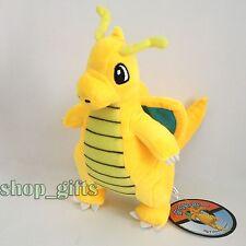 "Pokemon Plush Dragonite #149 Soft Toy Stuffed Animal Character Doll 9"" NWT"