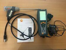 Testo 327-1 combustion Flue Gas Analyser Kit heating boiler tester