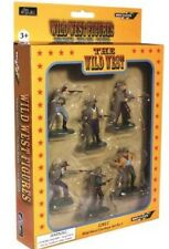 W Britain Super Deetail Figures 52013 - Wild West Cowboys Set No.1