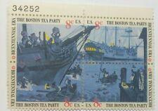 US SCOTT 1480-1483-1973 8 CENT BOSTON TEA PARTY-PLATE BLOCK OF 4-#34252 M/NH/OG