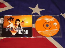 WILL SMITH - Miami  4 trk MAXI CD 1998