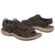 Clarks $115 Wave.Nomad Mens US 9 Brown Suede Leather Sandal Shoe 63426 Sample