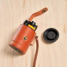 35mm Leather Film Case (Reddish Tan)
