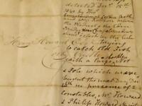1840 Henry Howard Corby Castle FISH POACHER Interesting Letter Document #CC25