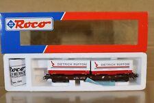 Roco 46379 Wagon Poche Unifies de la Öbb caisse Ruffoni et Karel Hermans