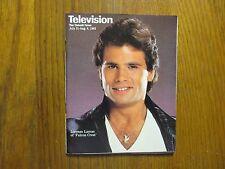 July 31, 1983 Detroit News Television  Magazine (LORENZO   LAMAS/FALCON   CREST)