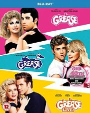 Grease 40th Anniversary Triple Greasegrease 2grease Live Blu-ray 2018 R
