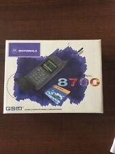 Motorola 8700 solo scatola e istruzioni
