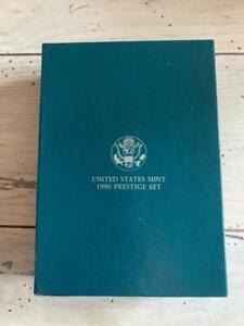 1990 United States Mint PRESTIGE Set w/ Box and COA
