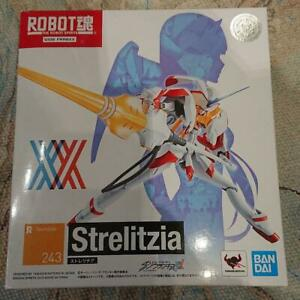 BANDAI Robot Spirits Darling in the Franxx Strelitzia R-Number 243 Anime Figure